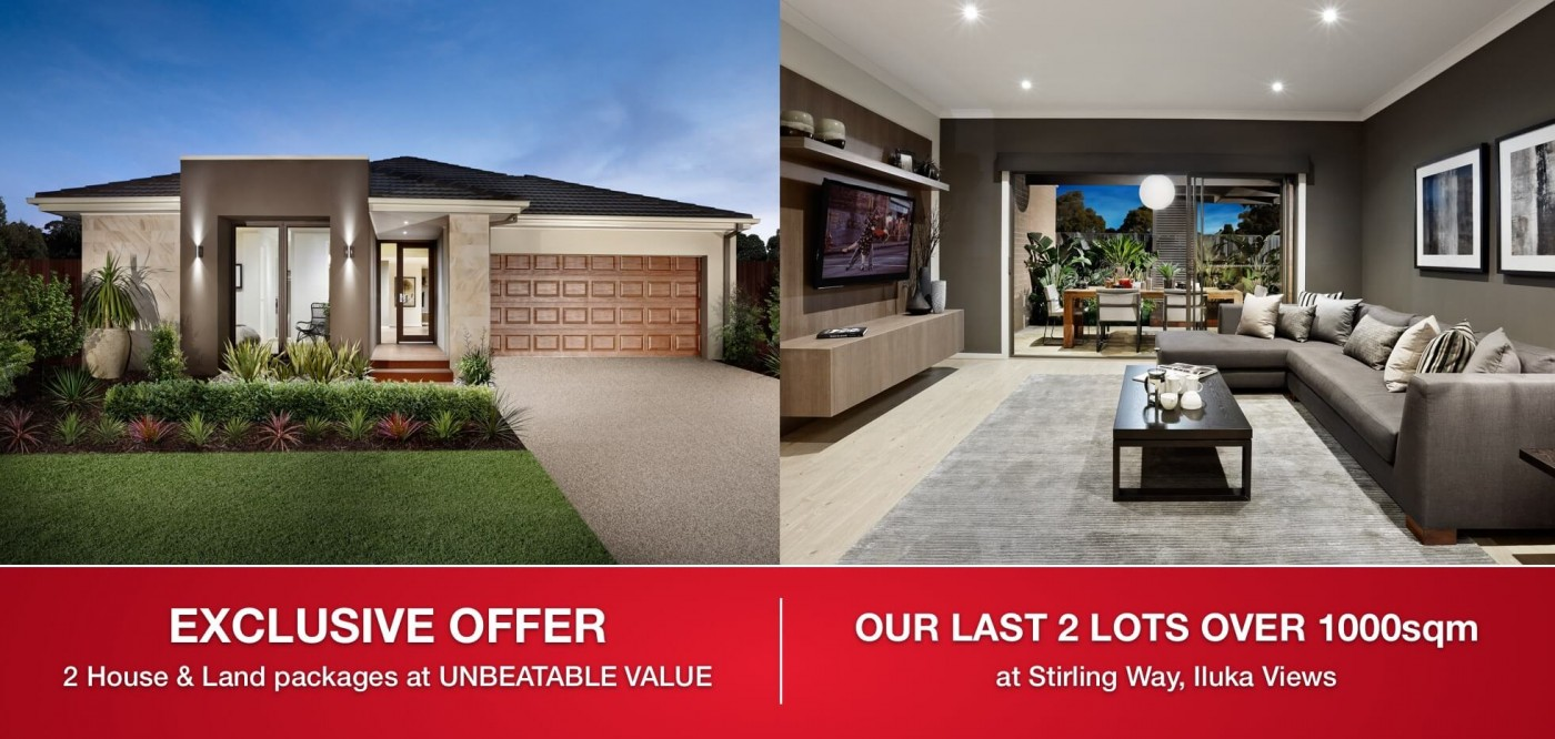 Exclusive Offer. Last 2 Lots...