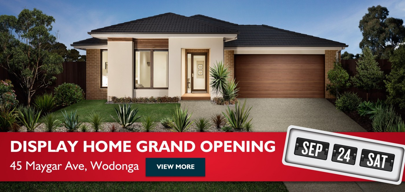 Display Home Grand Opening